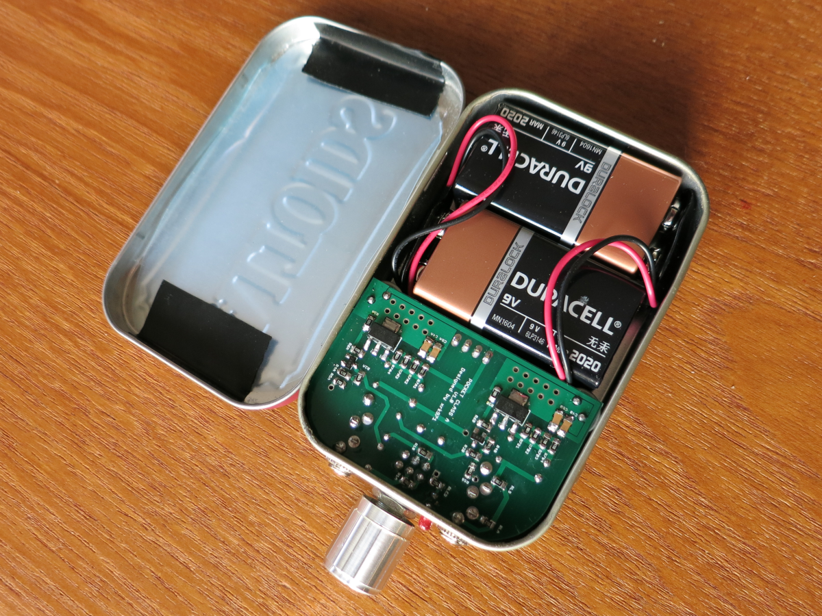 Pocket Class A DIY Headphone Amp by XRK971